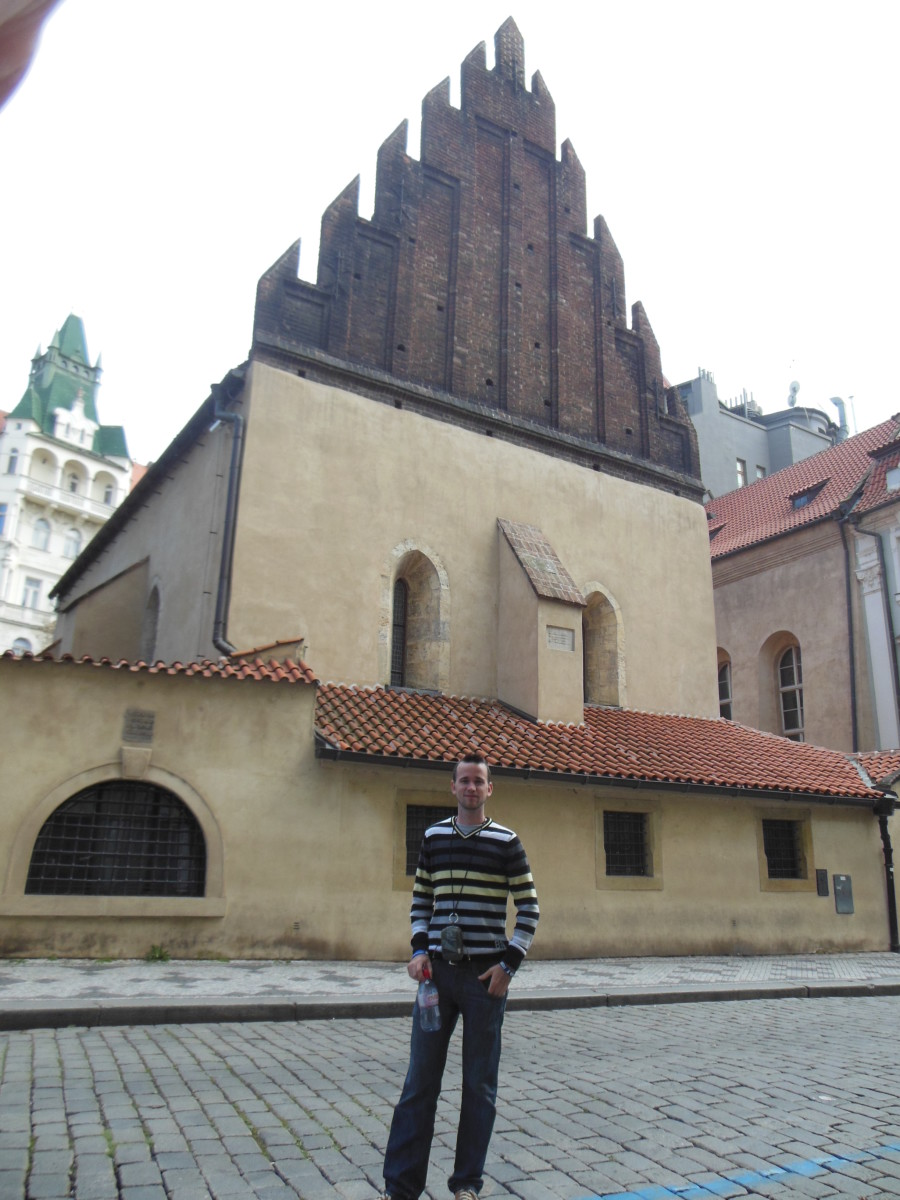 'New Old' Synagogue in the Jewish Quarter