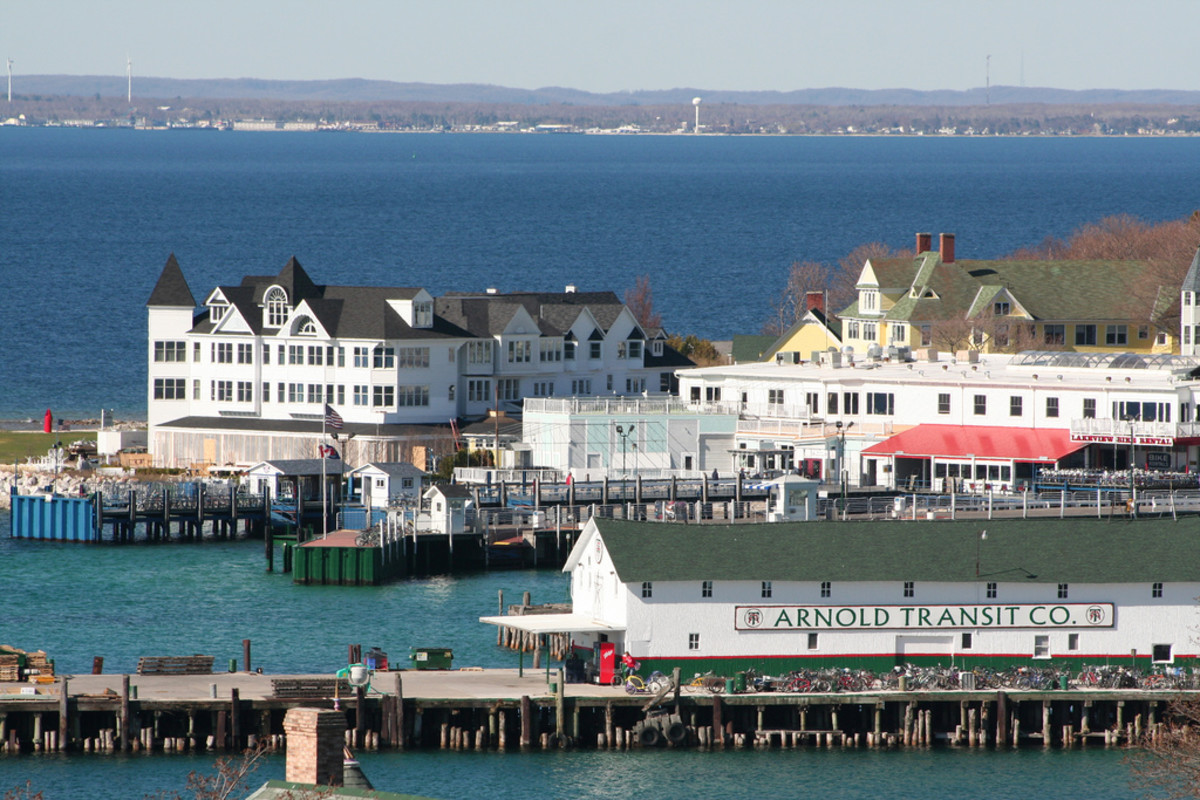 Mackinac Island docks