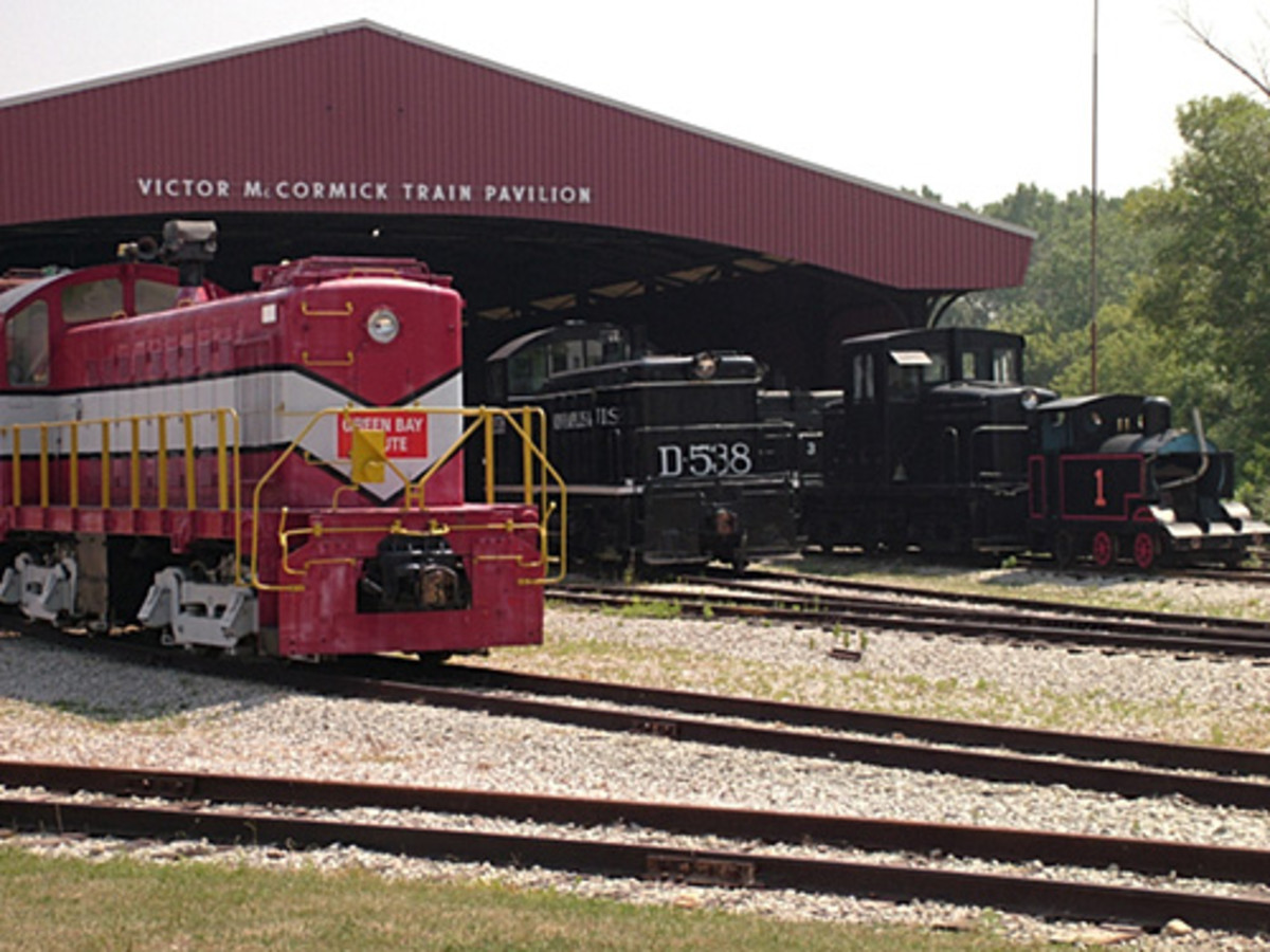 National Railroad Museum in Green Bay