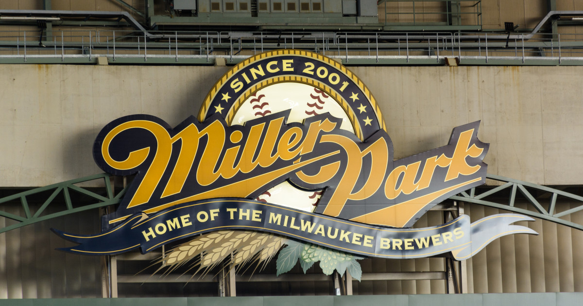 Miller Park is home to the Milwaukee Brewers.
