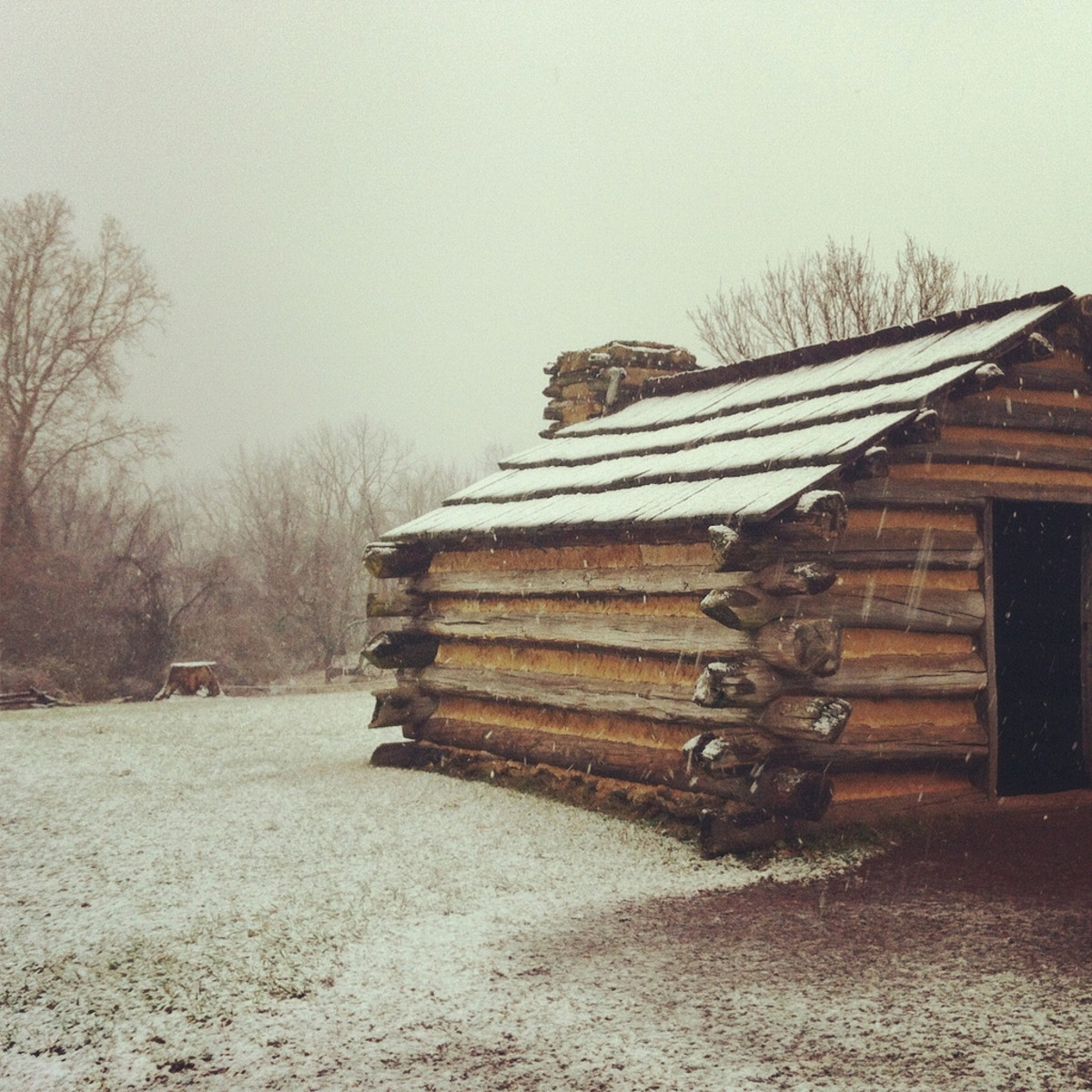 Log Cabin at Valley Forge