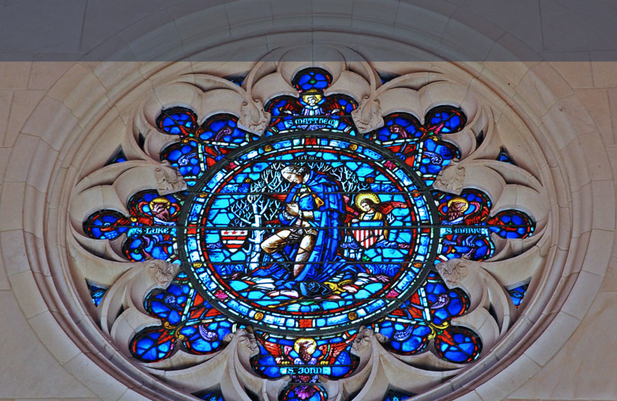 Stained Glass - Washington Memorial Chapel, Valley Forge