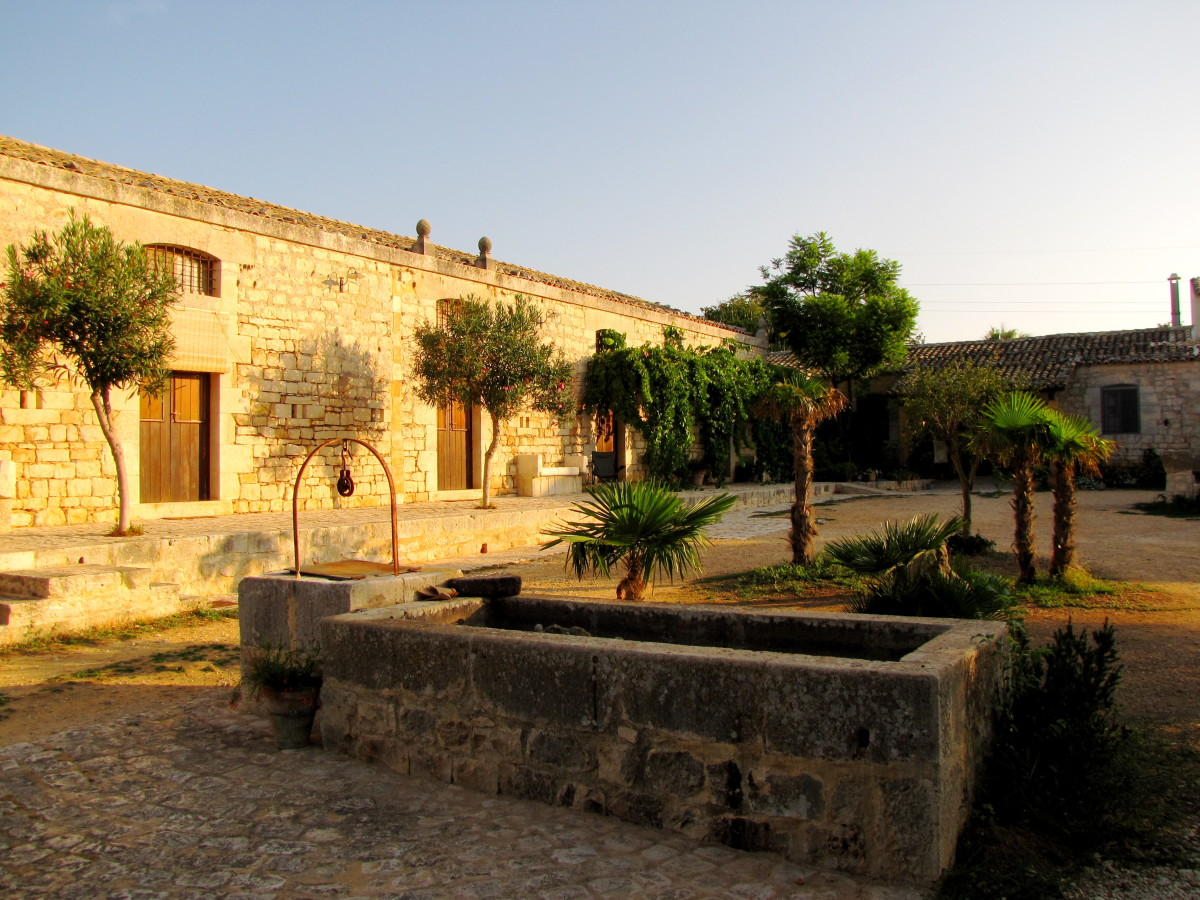 Quartarella: 75 euro per night for this beautifully restored farmhouse in Modica, Sicily.