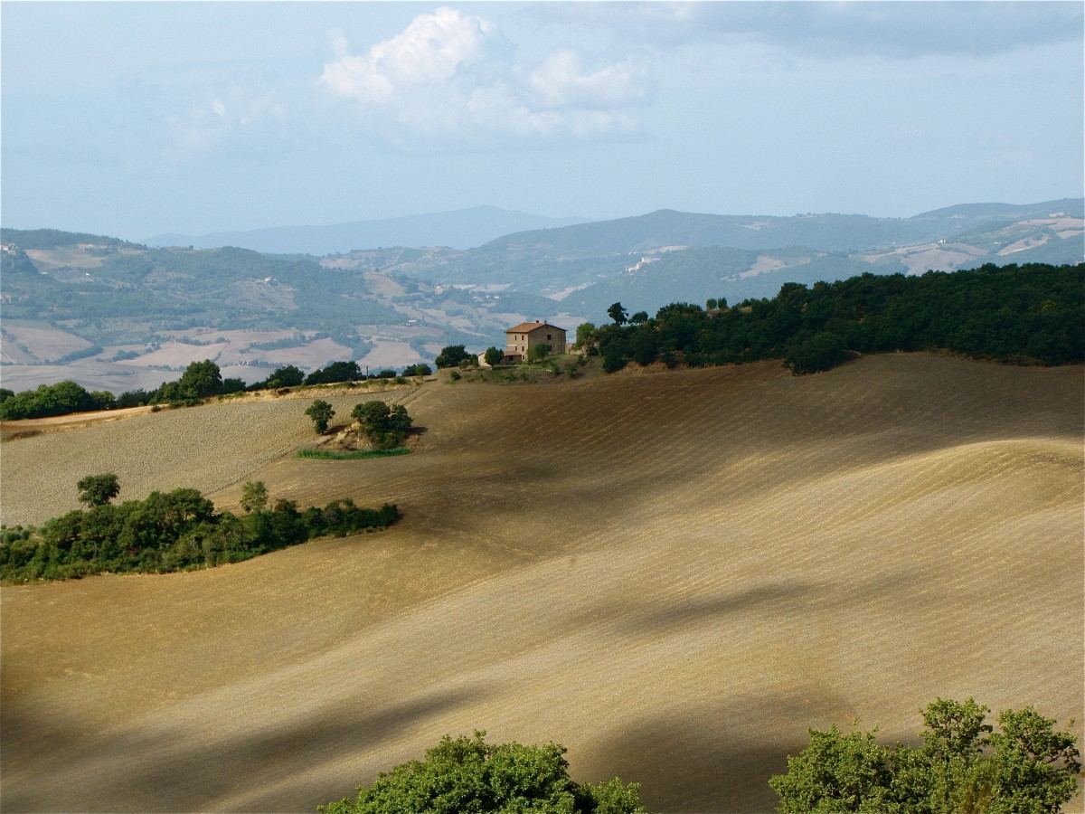 Val d'Orcia of Tuscany