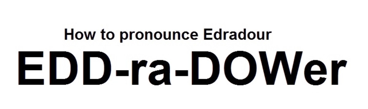 How to pronounce Edradour correctly