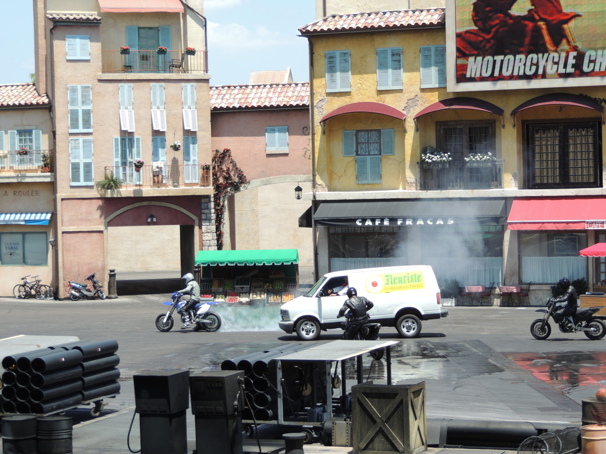Lights, Motors, Action! Stunt Show