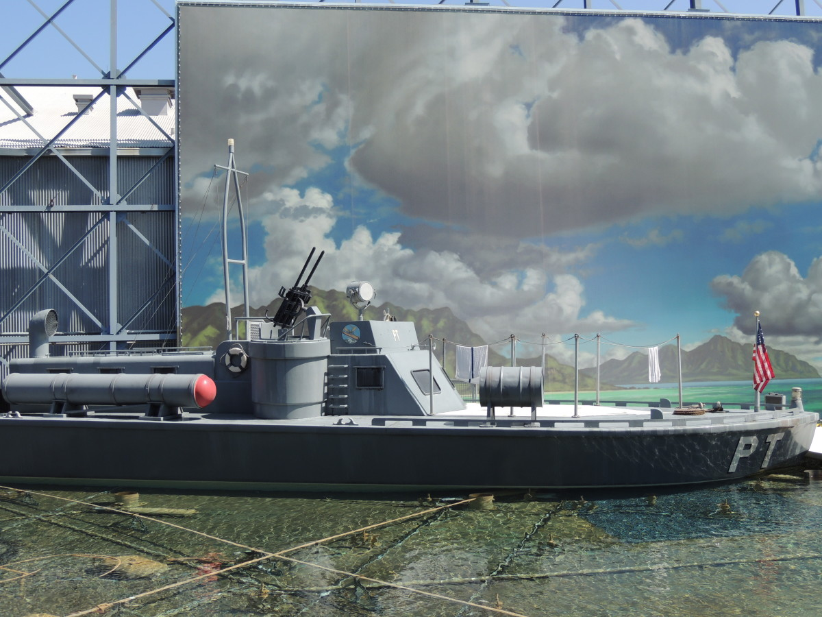 Warship from the movie Pearl Harbor.  It is used to demonstrate how special effects are done on the Back Lot Tour at Disney's Hollywood Studios