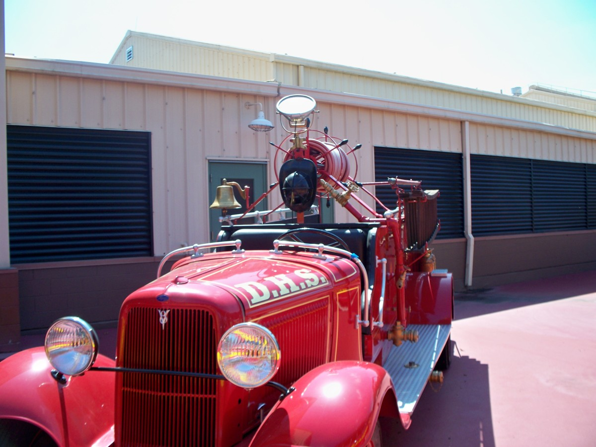 Vehicle Props - Back Lot Tour at Disney's Hollywood Studios