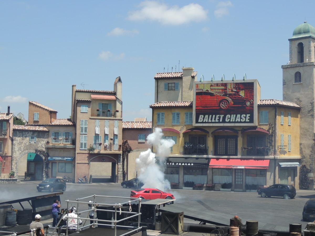 Lights, Motors, Action! Stunt Show