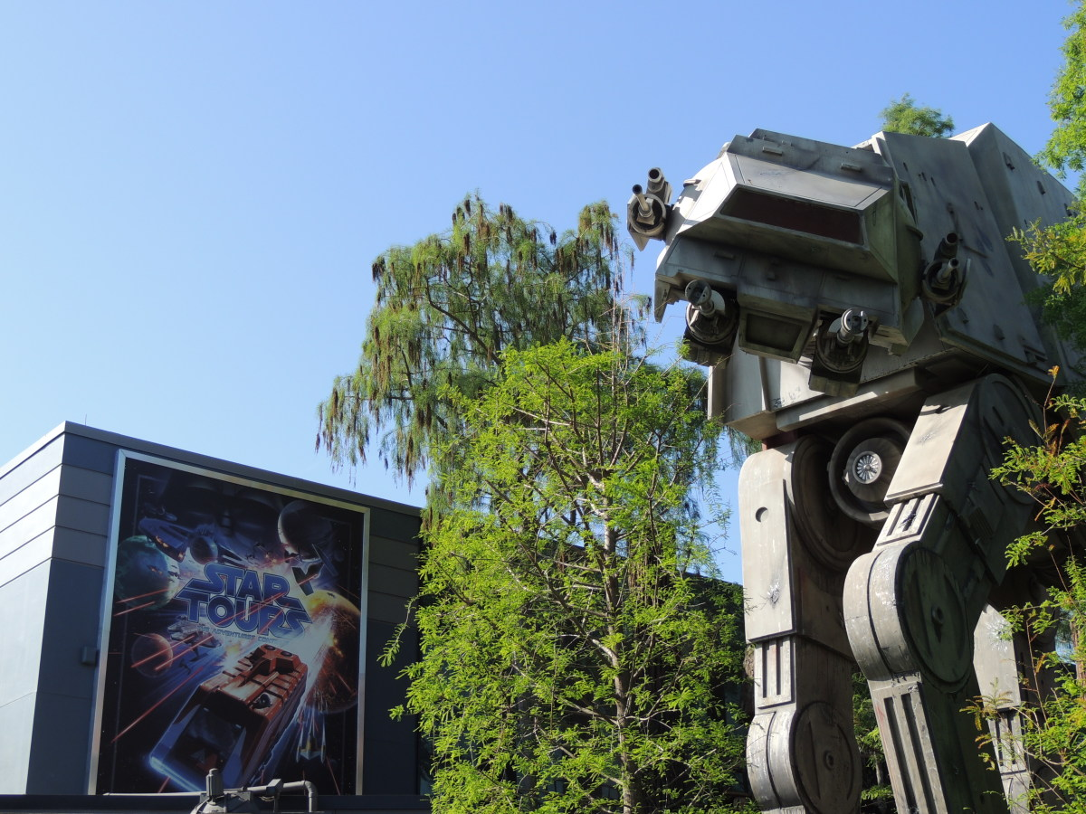 Star Tours ride at Disney's Hollywood Studios