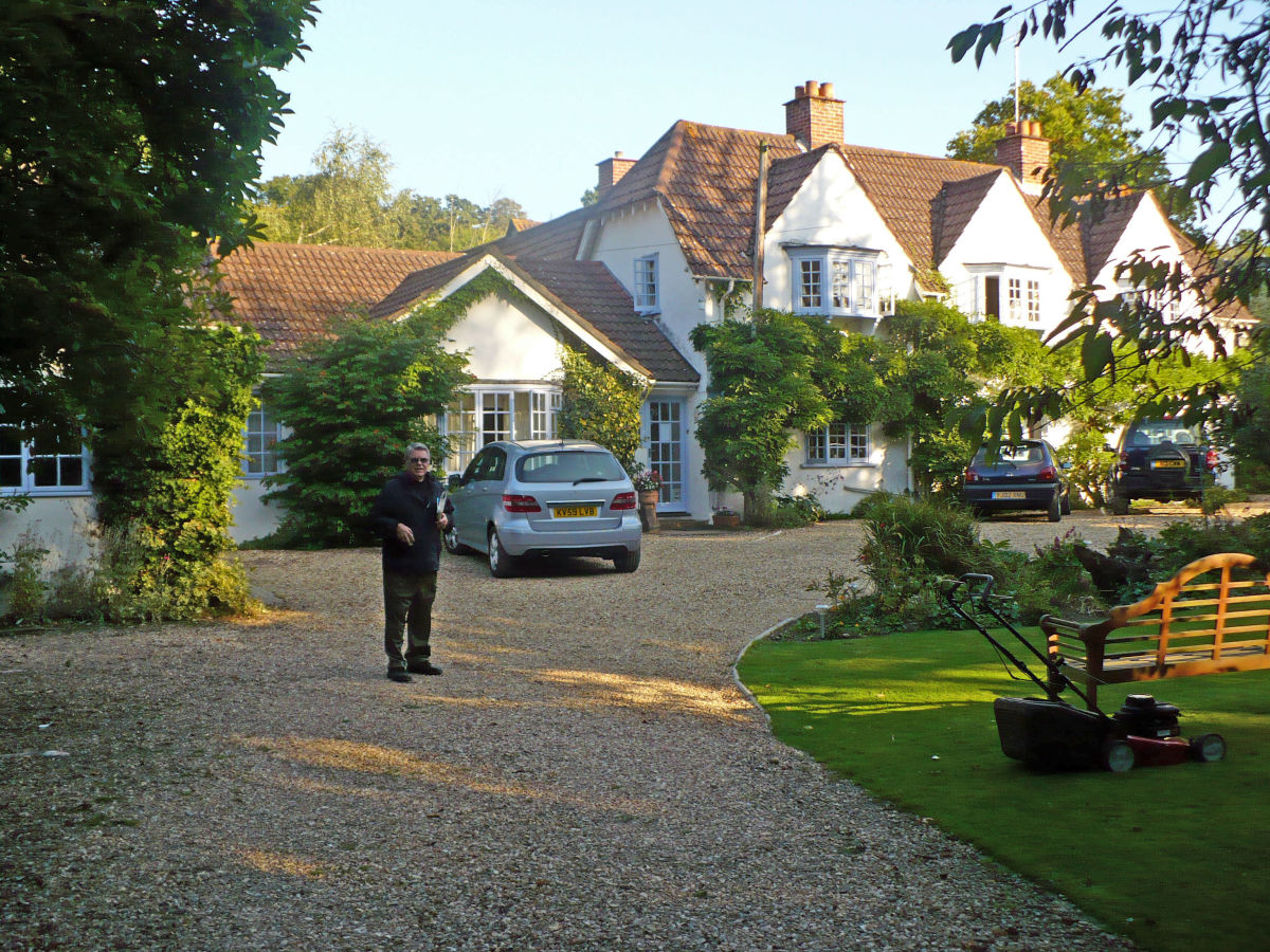 Wayside Cottage, our B & B in Burley