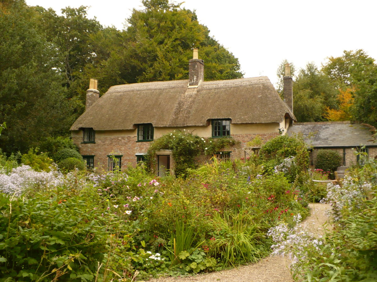 Thomas Hardy's childhood home near Dorchester
