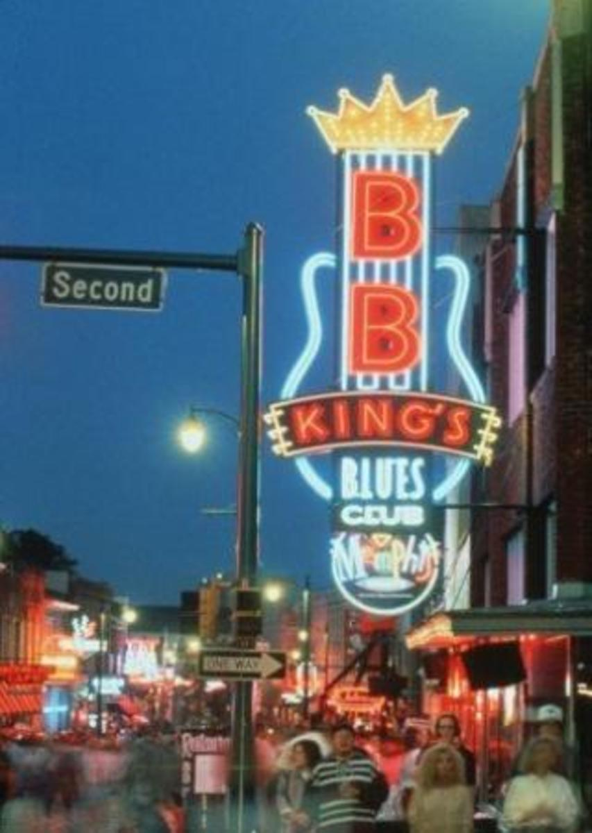 BB King's Blues Club on Beale Street is a great spot to grab a bite.