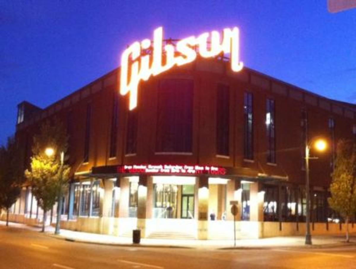 The Gibson Guitar Factory in Memphis is an awesome place to visit.