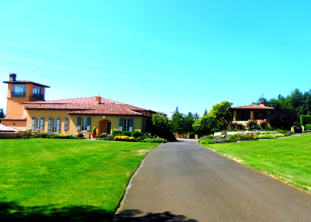 Though the facilities are undeniably picturesque, Domaine Serene wines carry a high price tag.