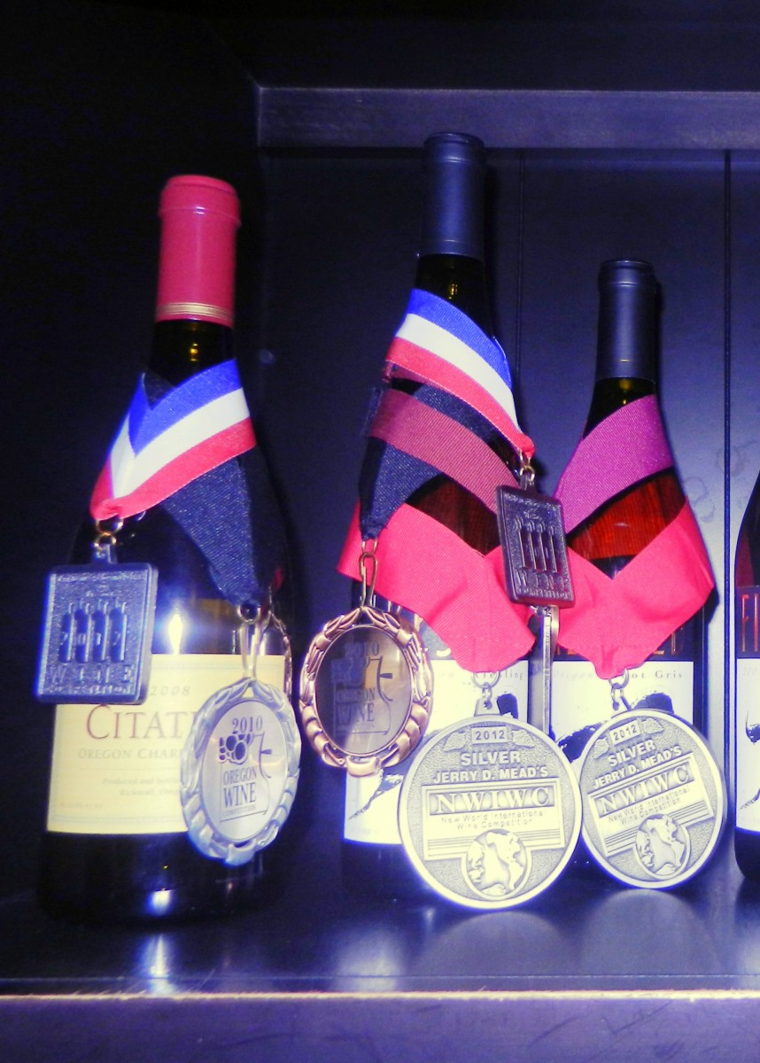 Oregon's 2008 Pinot Noir win awards.