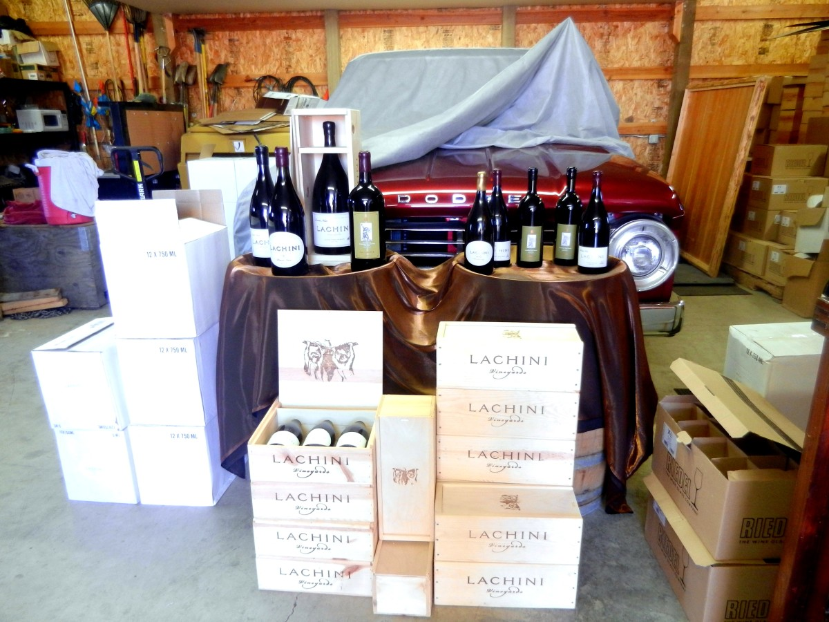 Don't let Lachini's humble tasting room fool you -- they make top-notch wines.