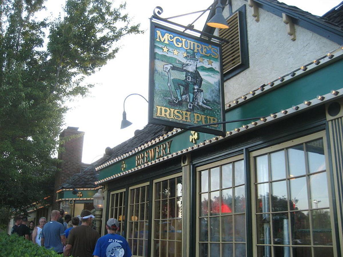 McGuire's Famous Sign