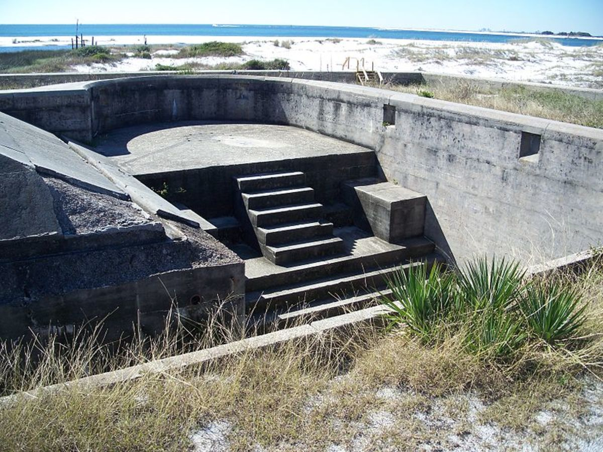 Fort Pickens in Pensacola, FL.