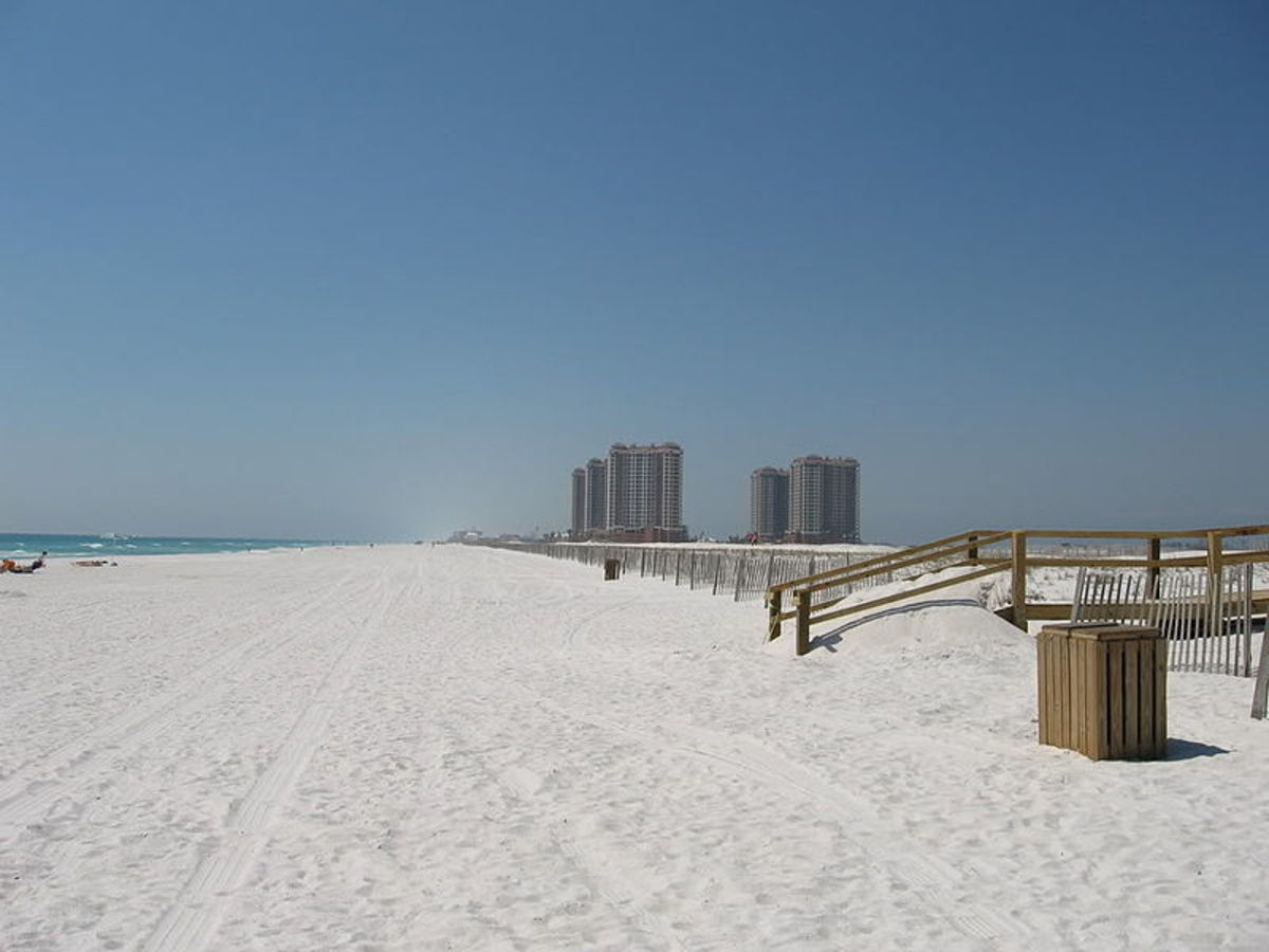 White Sand of Pensacola Beach