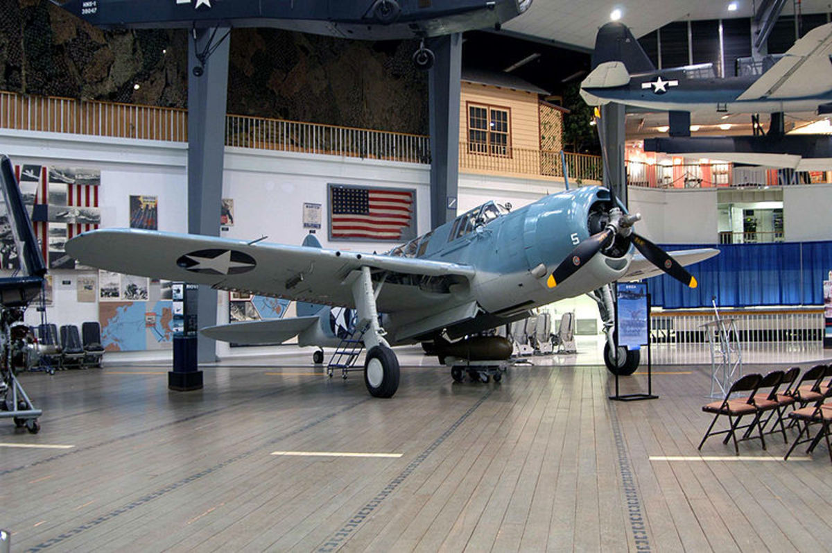 Displays at the Naval Aviation Museum change frequently, so visit often.