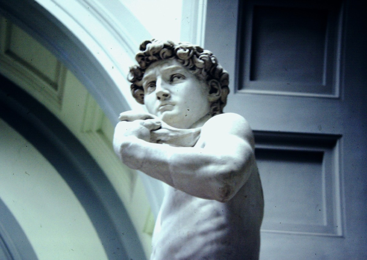 Michelangelo's David. © A Harrison