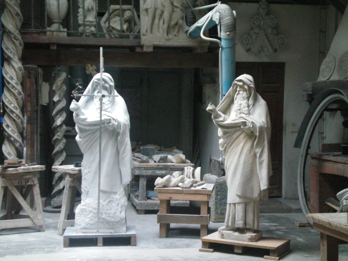 Artisans remain important in modern Florence © A Harrison