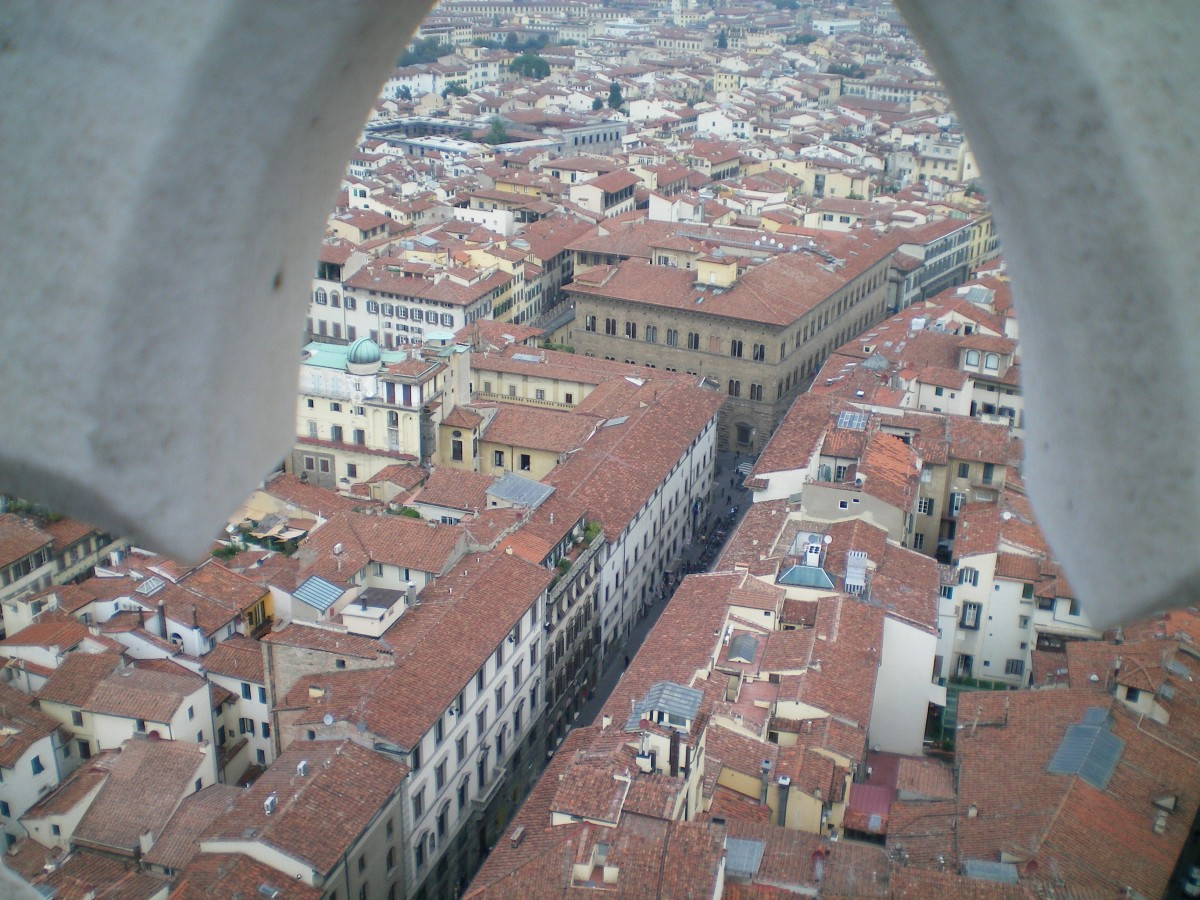 View from the Duomo towards the Sant'Ambrogio district © A Harrison