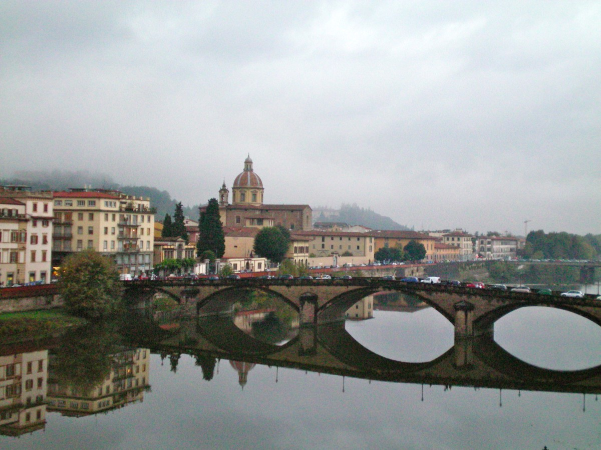 Florence at dusk © A Harrison