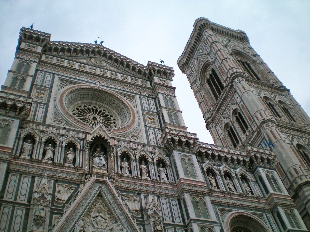 There are relatively empty museums not far from the crowds of the Duomo. (c) A Harrison