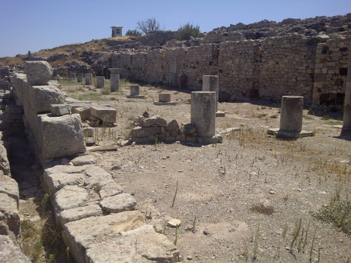 The Agora of Ancient Thira