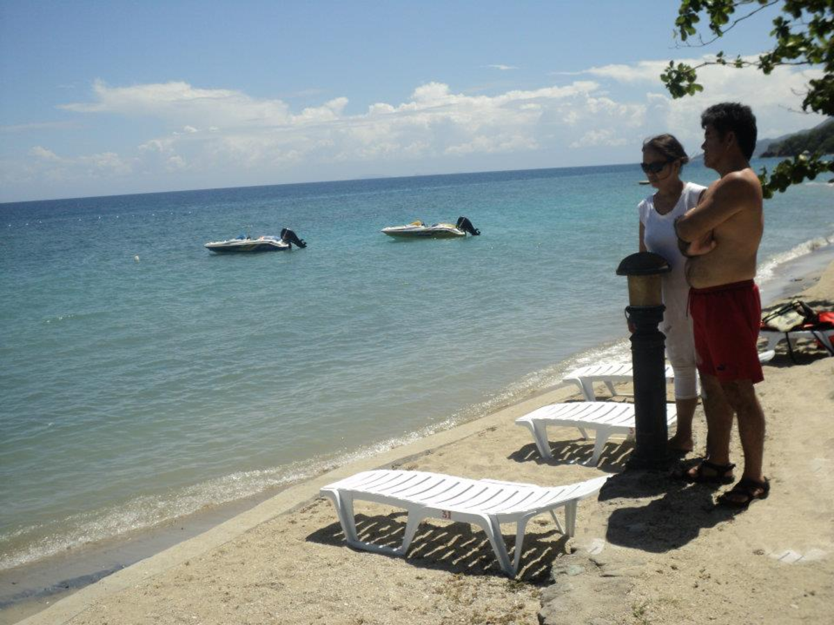 A Part of the Long Laiya Beach