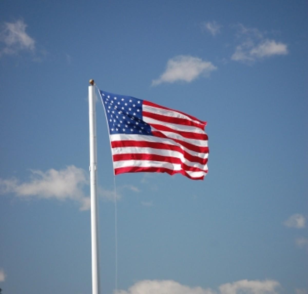 """Flags, flags everywhere!"""