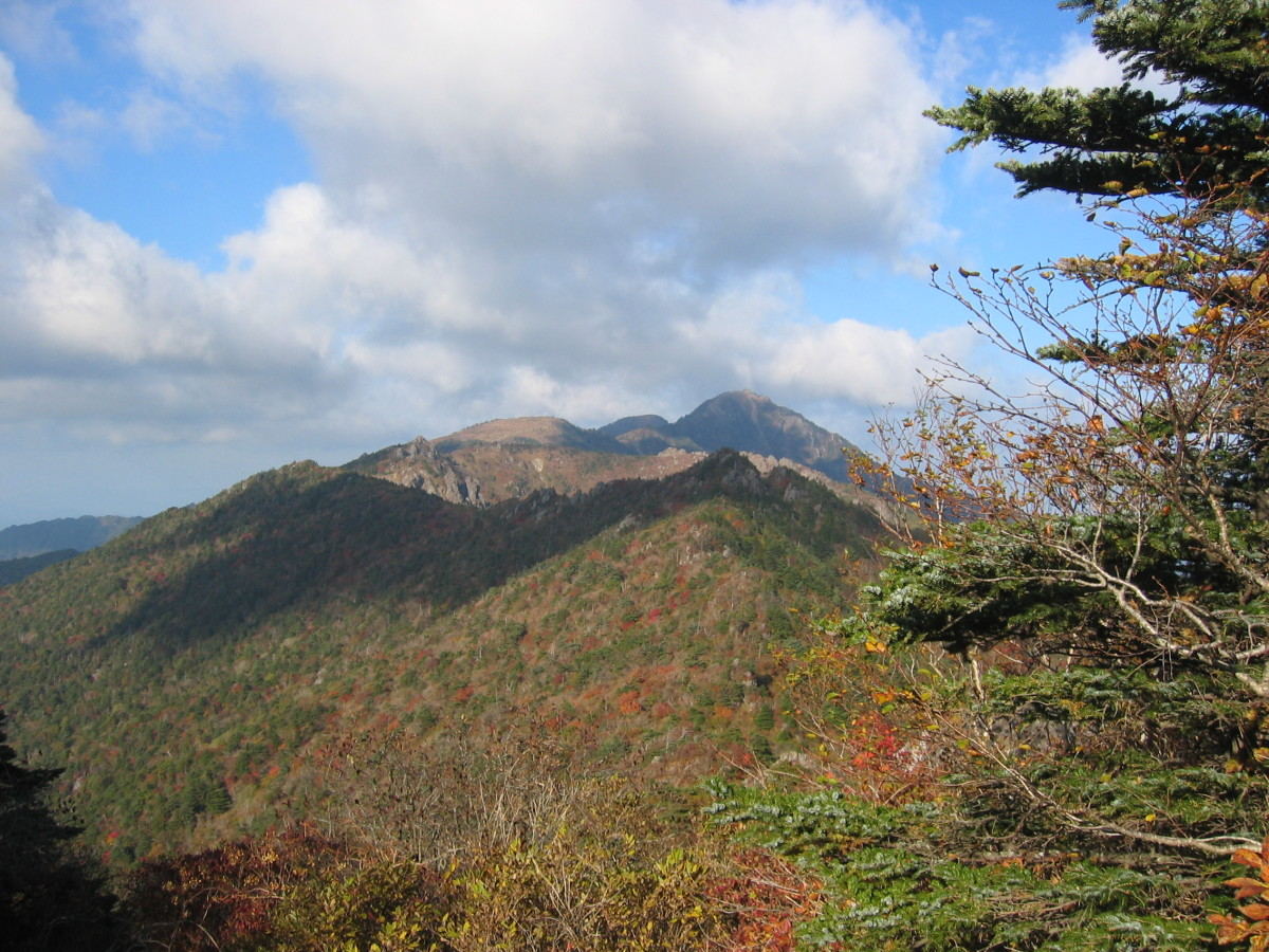 Jirisan, highest mountain in peninsular South Korea.