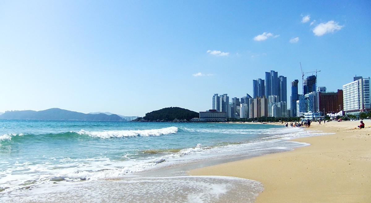 Haeundae Beach, Busan.