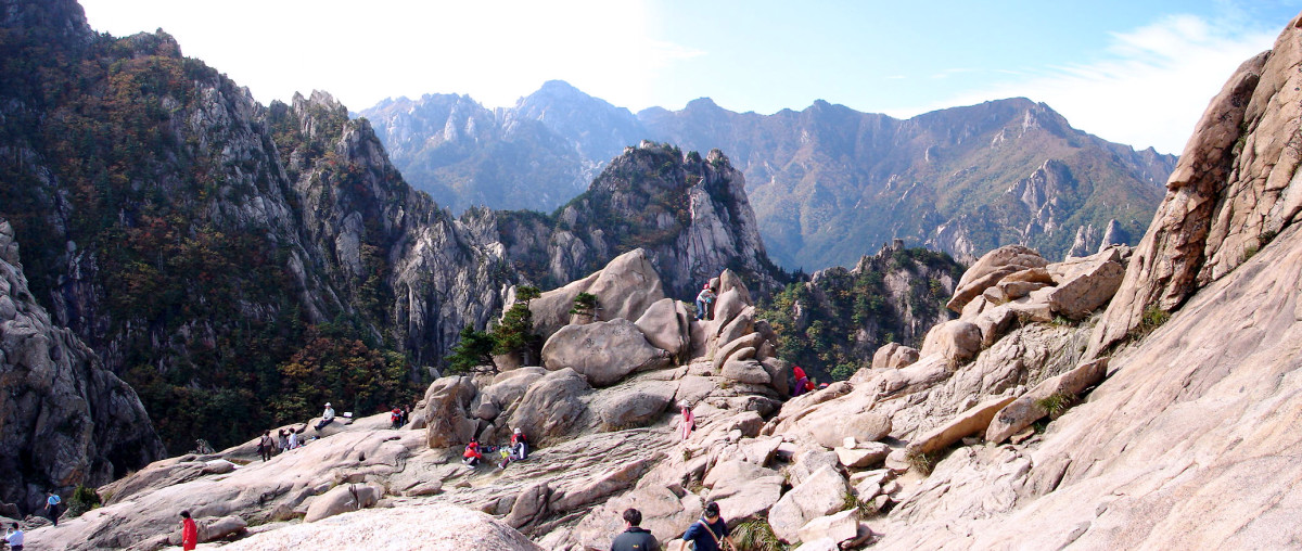 Seoraksan National Park.