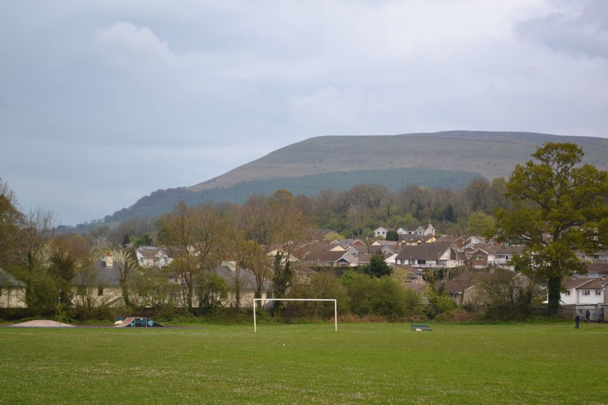 View Towards The Blorenge From Gilwern