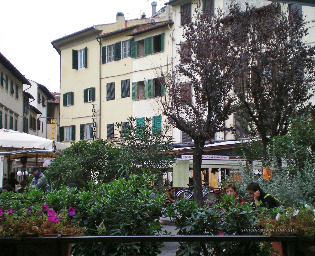Dining near the San Lorenzo markets (c) A. Harrison