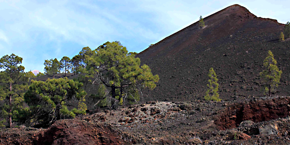 El Chinyero - the Teide National Park remains an active volcanic zone