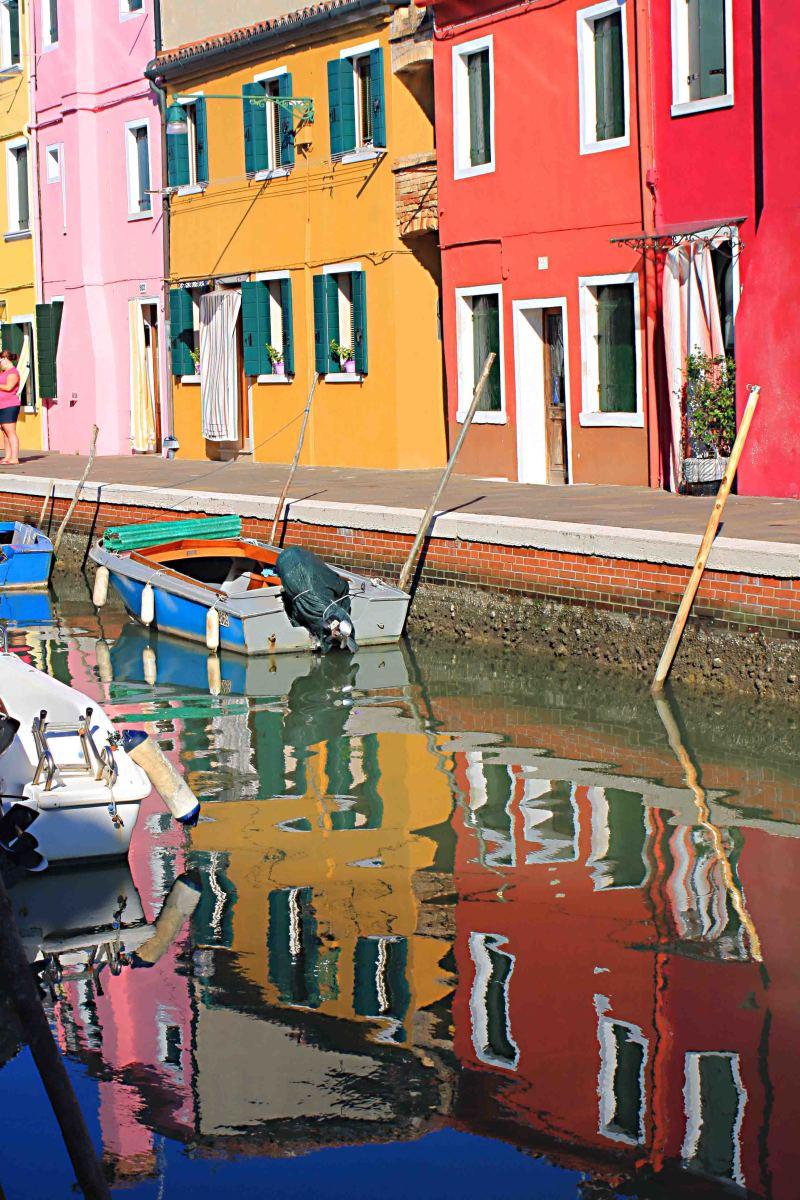 Reflections of Burano