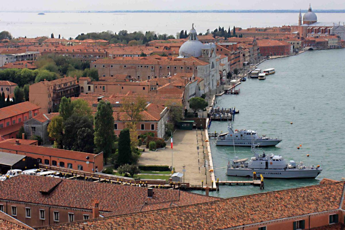 The Island of La Giudecca, as seen from the Island of San Giorgo Maggiore
