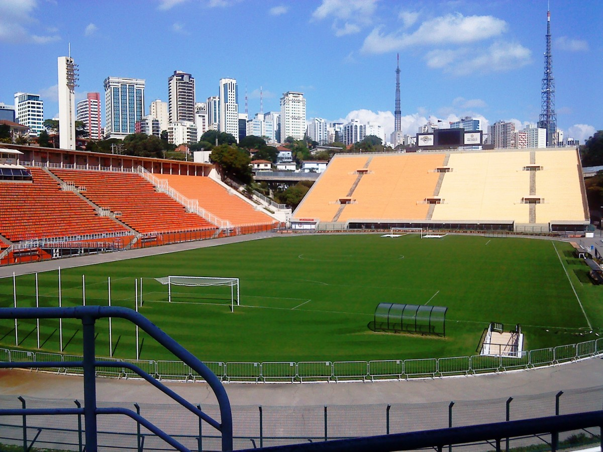Estadio do Paceumbu,Sao Paulo.