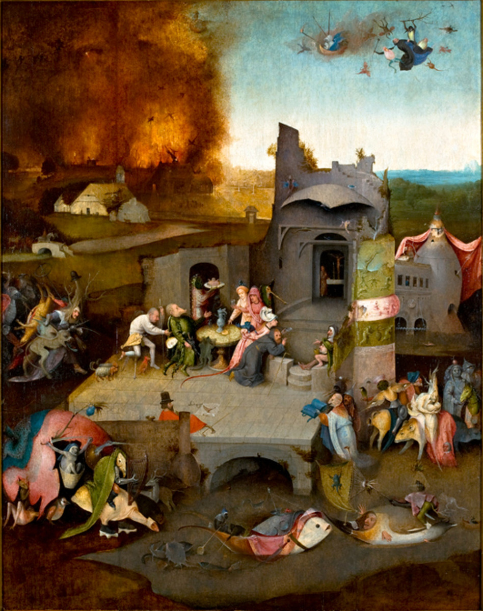 The Temptation of St Anthony by Hieronymous Bosch is in MASP