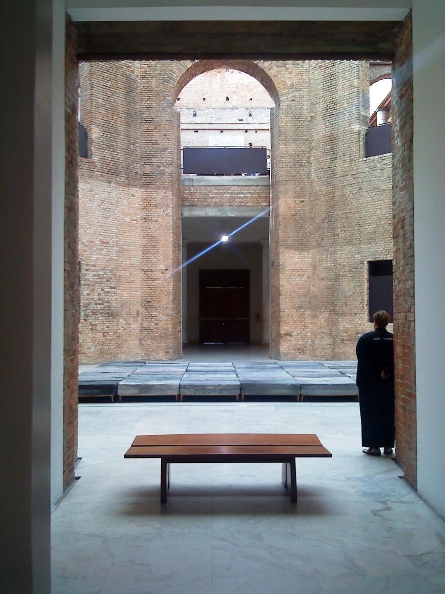 Inside the Pinocoteca