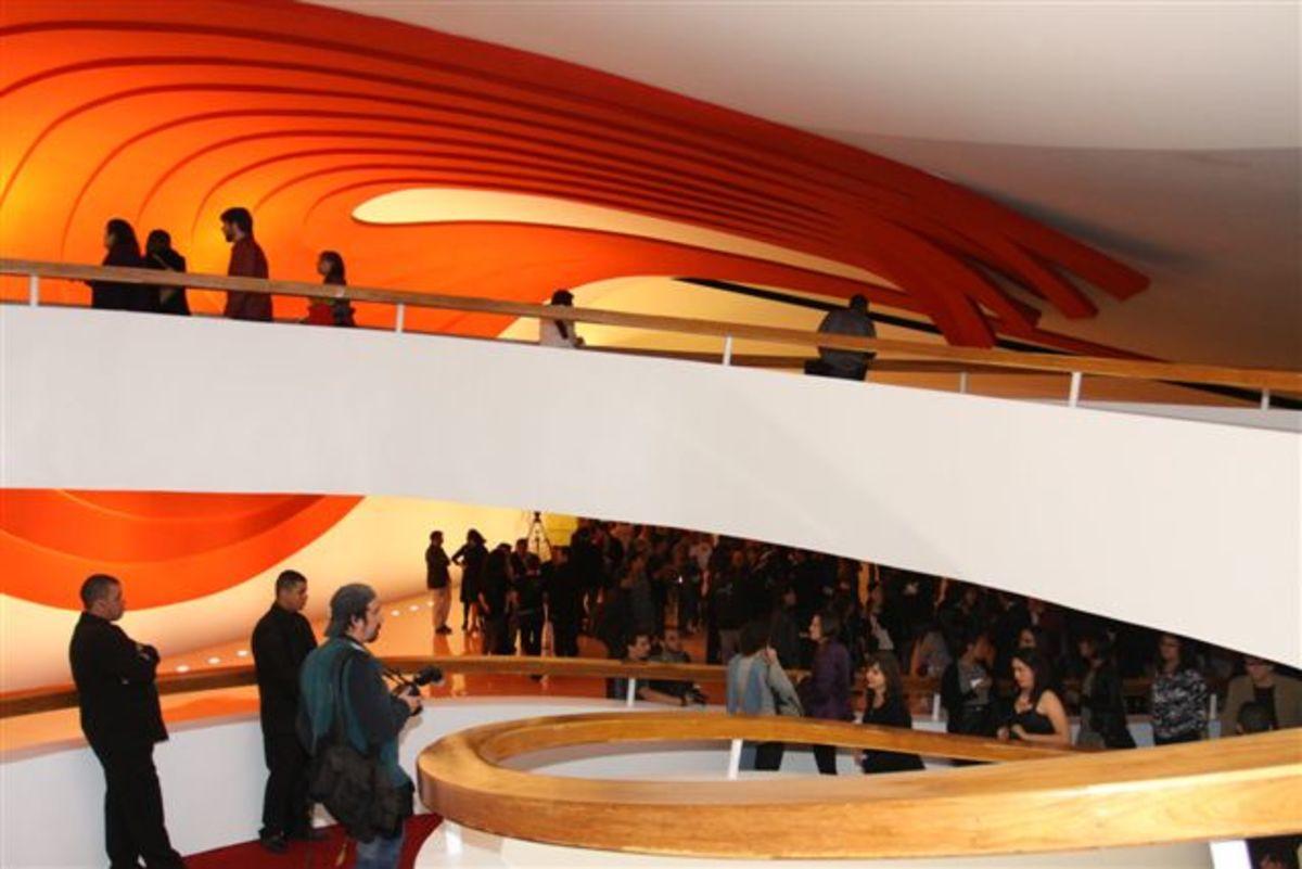 Interior of Auditorio.