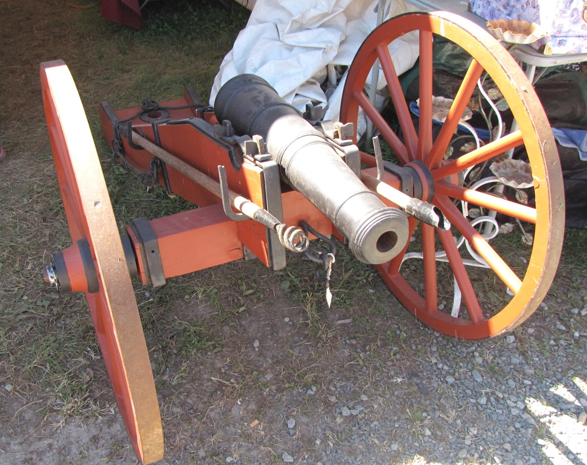 You can even buy a real cannon here. Price tag? How about $8,500!