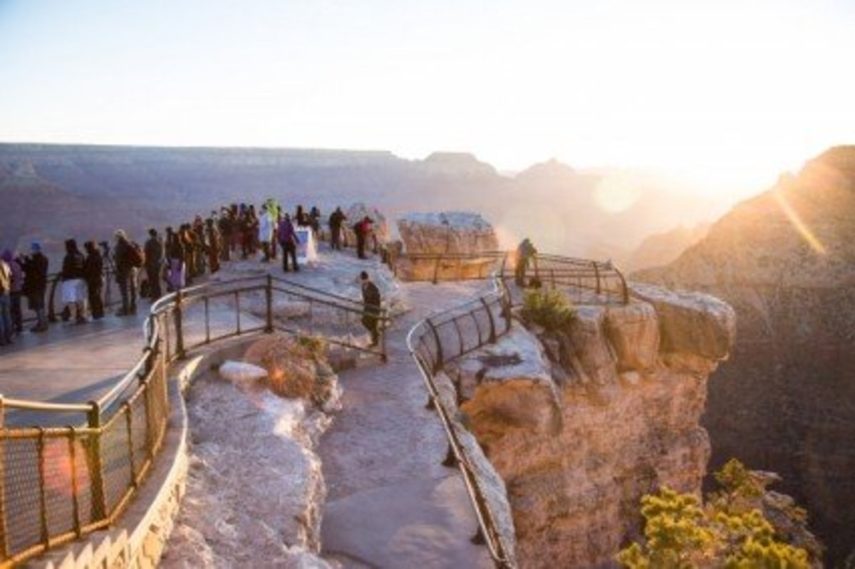 Visiting the Grand Canyon in Winter