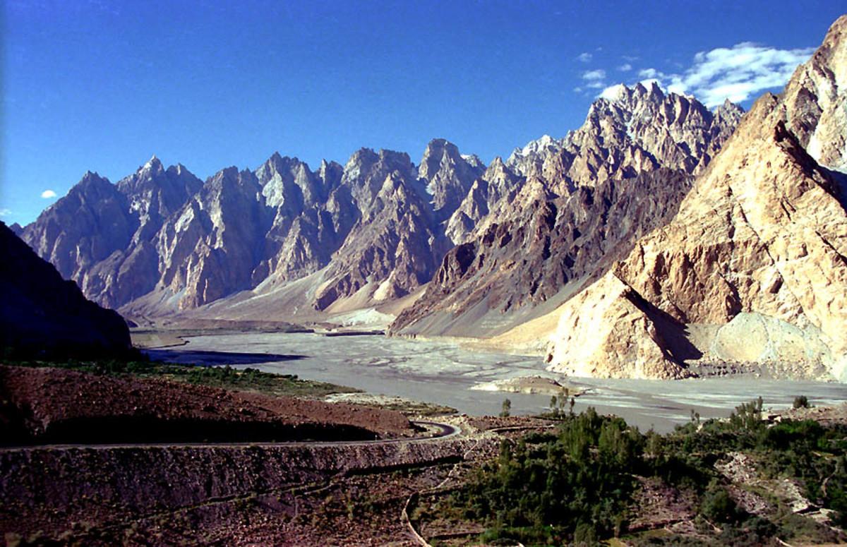 Cathedral Ridge in Pakistan
