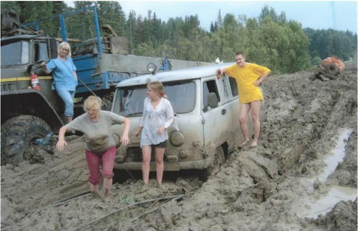 July on the Siberian Road to Yakutsk