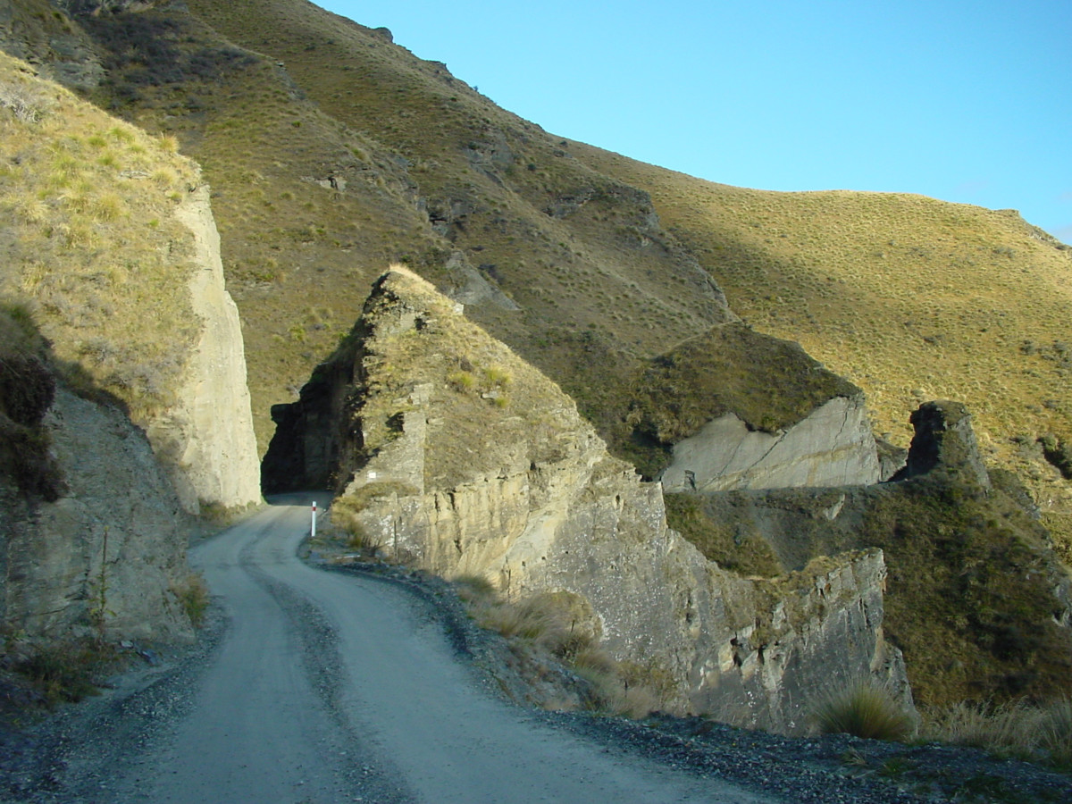 Hell's Gate on Skippers Canyon Road